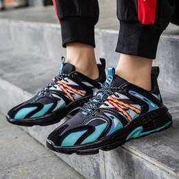 2019 обувь для фитнеса Cool2019 Прилив Мужской Ins Forrest Gump Обувь Свободное время Motion Run Обуви Вентиляция Подростки скидка обувь для фитнеса