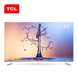 pantalla lcd roja Rebajas TCL de 55 pulgadas 4K pantalla completa ultra delgado hd escena completa ai TV LCD a la red el envío libre