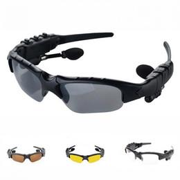 Беспроводные солнцезащитные очки онлайн-Солнцезащитные очки Bluetooth-гарнитура Наружные очки Наушники Музыка с микрофоном Беспроводные стереонаушники Наушники на открытом воздухе Умные очки Наушники