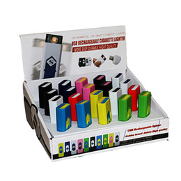 Creativo Pequeño USB recargable a prueba de viento sin llama eléctrico de carga de cigarrillos encendedor sin humo Super Lighters hombre regalo producto desde fabricantes