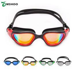 Yetişkin Anti-sis UV-koruma Yüzme Gözlük Aynalı Kaplama Mayo Spor Swim Gözlük Saklama Kutusu ile Gözlük Gözlük nereden