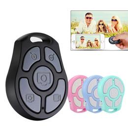 2019 monopod inalámbrico Botón Zoom Botón Bluetooth Obturador Control remoto Autodisparador inalámbrico Teléfono con cámara Monopod Selfie Stick Obturador Controlador 5 botones de tecla monopod inalámbrico baratos