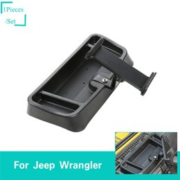 internal phones Promo Codes - ABS Black Mobile Ipad Phone Bracket For Jeep Wrangler TJ 1997-2006 Second Generati Factory Outlet Auto Internal Accessories