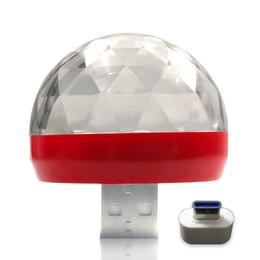 Tragbare Dreh Dekoration Musik Atmosphäre USB Bunte LED-bunte Projektor Mini-Auto-Innen Partei von Fabrikanten