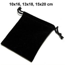 деревянная подвеска Скидка 50шт / лот 10x16, 13x18, 15x20 см черный/синий/красный шнурок мешки бархатные сумки для ювелирных изделий Рождество упаковка сумки подарочная сумка