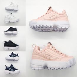 Argentina FILA Moda nuevo 2019 Primavera Otoño zapatos de niño zapatos de bebé de los niños ocasionales lindos zapatos de la muchacha niños Calzado Niño pequeño cheap girls sport shoes cute Suministro
