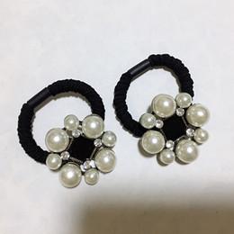 Dongdaemun Corea C stile perla fiore elastico capelli anello testa corda elastico gioielli Europa e in America popolare accessori per capelli delle donne da