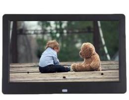 2019 manuel de carte sd Cadre photo numérique Super Slim 10.1 10 pouces TFT LCD Album réveil lecteur MP4 16: 9 1024 * 600 JPEG / JPG / BMP MMC / MS / SD MPEG AVI Xvid