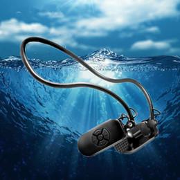 usb-flash-laufwerk lautsprecher-player Rabatt 2018 Neueste APT-X Knochenleitung 4G 8G HIFI MP3 Player IPX8 Wasserdicht Schwimmen Outdoor Sport Kopfhörer USB MP3 Musik Player