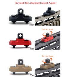 2019 keymod mount Крепление для крепления на рейку Keymod для систем KEYMOD Handguard_Алюминиевый черный / красный / коричневый цвета дешево keymod mount