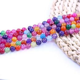 Perles d'agate arc-en-ciel en Ligne-Rainbow Line Agate Perles 10mm 37pcs / strand Agate Bead Livraison Gratuite 15 pouce brin par set