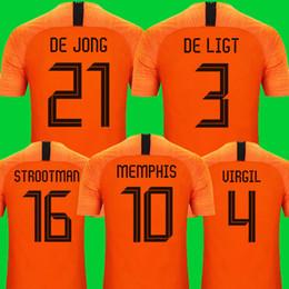 En tayland kaliteli milli takım Hollanda futbol forması 2019 2020 DE JONG PROMES Hollanda futbol takımları gömlek DE LIGT VAN DIJK VIRGIL KÖR STROOTMAN MEMPHIS formaları nereden