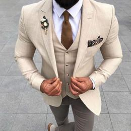 shawl pico lapela smoking smoking Desconto De alta Qualidade Sob Medida Ternos de Casamento Personalizado Ajuste Ternos Do Noivo Casuais homens salão Jaqueta Esportiva 2 Peças Jaqueta + Colete