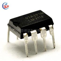 10PCS DIP-8 LM311P LM311 Voltage Comparators DIP 8 IC  X ZV