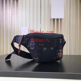 Ciclismo p online-2019 marchio di moda fannypack con lettere borse a tracolla uomo donna Outdoor Waistpacks Pack Ciclismo classico Cross borse P-14