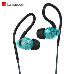 Samsung freies spiel online-Langsdom New Sports Bluetooth Kopfhörer BS80 tragbares Headset Bass Stereo-Free-Spiele Ohrhörer Ohrbügel mit Mikrofon für Musik