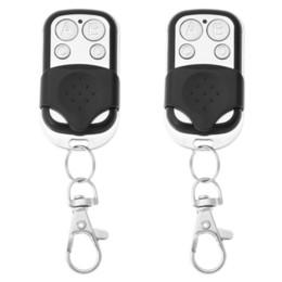4Channel Controle Remoto Sem Fio Clonagem Duplicador Elétrico Portão Da Garagem Chave Fob de Fornecedores de controle remoto do controle sem fio para preto