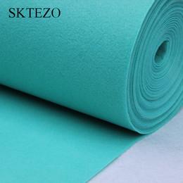 Corridore tappeto blu online-Corridore di tappeti di lusso da sposa blu Tiffany 1 metro di larghezza per 12 metri di lunghezza decorazione della festa nuziale fornitura banchetto corridoio corridore