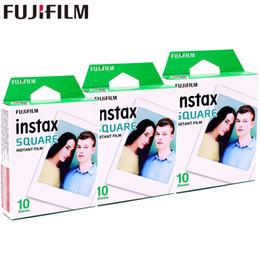 2017 Véritable Fujifilm Instax 30 Feuille SQUARE White Edge film Papier photo Pour Instax SQUARE SQ10 Hybride partager sp-3 SQ Caméra ? partir de fabricateur