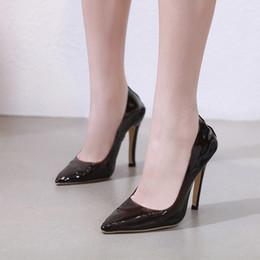 12cm Heels Ladies Pumps Nero Tacchi alti Moda Rosa scarpe a punta Donna  Tacco alto Scarpe da lavoro trasparenti Donna scarpe da lavoro donna nere  in vendita 39a08e8aa25