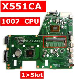 prueba de la placa base Rebajas X551CA 1007 CPU placa base ASUS REV 2.2 Para X551CAP X551CA X551C placa base del ordenador portátil motherboard prueba OK