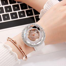 2019 fita de silício Relógio de quartzo feminino de alta qualidade de silicone fita de cristal branco relógio de quartzo desconto fita de silício