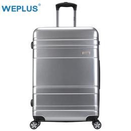 28 чемодан чемоданчика Скидка WEPLUS Чемодан Бизнес Роллинг Багаж Путешествия Чемодан с Колесами TSA Замок Spinner Пользовательские Стержень Коробка Женщины Мужчины 20 24 28 дюймов