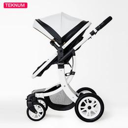 disegni gratuiti per il paesaggio Sconti Teknum 2 in 1 alta paesaggio X Design passeggino carrozzina neonato sei regalo gratuito HK consegna gratuita 0-3 anni in pelle carrozzina