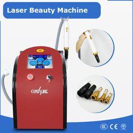 Precio de la máquina de tatuaje láser online-Precio barato 755nm 1064nm 532nm 1320nm picosegundos láser máquina de eliminación de tatuajes Q interruptor Nd Yag Láser