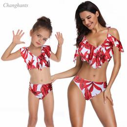 modelos de bikini rojo Rebajas Bikini sexy modelo 2019 Nuevo modelo para mujer Blanco con azul o rojo Traje de baño de dos piezas Traje de baño bikini traje de baño trajes de baño