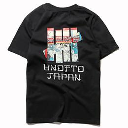 Homens estilo japonês t camisa on-line-Invicto Designer T Shirt Invicto de Alta Qualidade T Shirt Japonês Sumo Homens Mulheres Street Style Hip Hop Manga Curta S-XL