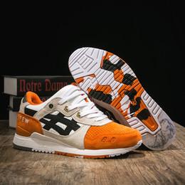 Top designer di scarpe uomo online-Nuovo Asics x Afew x Beams Gel Lyte III Jogging Sneakers Uomo Donna Scarpe da corsa Top Quality Designer Sport Scarpe da ginnastica US 4-10