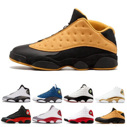 cheap for discount f868f 7abf9 2019 Top 13 13s Men Basketball Shoes Chicago Bred He Got Game History of Flight  Wheat Designer Shoes Athletics Sport Sneakers