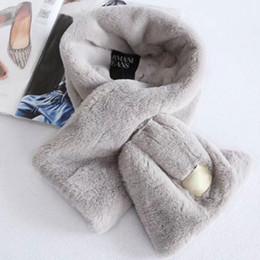 Lenços De Pelúcia inverno Austrália UG Cachecol Mulheres Meninas Macio Fur Fuzzy Neckerchief UG Retângulo Quente Cachecóis Neckerchieves Boa Qualidade DHL de Fornecedores de tamanhos de capa de colcha