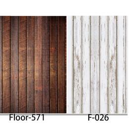 2019 pisos de vinilo impreso Fondo de fotografía Piso de madera Vinilo Impresión digital Telones de fondo para estudio fotográfico alternativo F026 Floor-571 pisos de vinilo impreso baratos