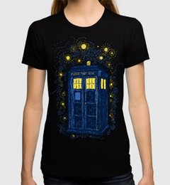 Argentina Camiseta de Doctor Who Starry Night, todos los tamaños para mujer. Suministro