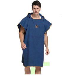 Velo veloce e asciutto online-Accappatoio Quick Dry Asciugamani da bagno Magic Shower Robes Adult Kids Body Wrap Accappatoio Accappatoio Beach Dress Indossabile Abbigliamento Magico TL338