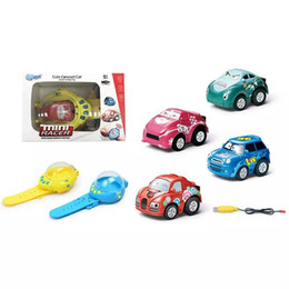 Часы наручные онлайн-Gravity Sensing 4CH RC Автомобилей Жест Управления Автомобилями с Носимых Контроллеров Часов 4 Цветов Пульт Дистанционного Управления Автомобилем Подарок для Детей