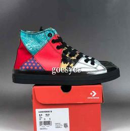 Cristal geléia sapatos on-line-2019 Nova 1970 Chuck All Star sapatos de cristal geléia CNY Moda Designer de Marca de couro Da Marca Das Mulheres Dos Homens Sapatos Sneakers 35-44