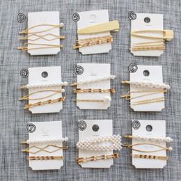 favori all'ingrosso della farfalla Sconti Il nuovo arrivo clip di 3Pcs / Set capelli della perla delle navi in metallo delle donne delle ragazze della forcella forcine Barrette di Pin di Bobby Hairgrip Accessori per capelli di goccia