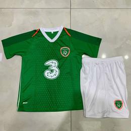 1325d72985c New 2018 2019 Ireland kids Soccer Jerseys national team home 18 19 football  jersey shirts Children's suit Custom football uniform
