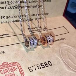 conjunto de suéter de prata Desconto Moda Clássico Rodar Dança Pedra Pingente de Prata Colar Para As Mulheres Presente Da Jóia Para Medalhão de Amor