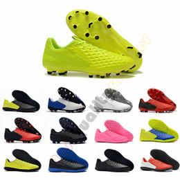 2019 scarpe da calcio da uomo Tiempo Legend VIII FG turbo verde Rosa Bianco Triple Nero Scarpe da calcio da uomo 8.0 8s Scarpe da calcio Taglia us
