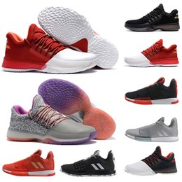 b8c77a82d865 Newst Mens Harden Vol. 3 MVP Basketball Shoes Weaving Sneakers Men Red Grey  Black James Harden 3s 1s Outdoor Trainers Sports Shoes