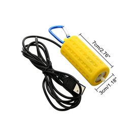 61597b1623c tas Pompes à air Accessoires Aquarium Terrarium Filtre Fish Tank Portable  Mini USB Aquarium Fish Tank Oxygène Air Pump Mute Energy Savi .