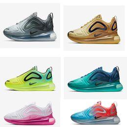 scarpe donna bianca rosa Sconti 720 scarpe da corsa per uomo donna Northern Lights Rosa mare CARBON GREY triple nero bianco SUNRISE mens trainer sneakers sportive