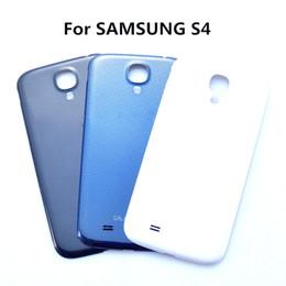 Alloggiamento samsung i337 online-Originale per Samsung Galaxy S4 i9500 Custodia posteriore Custodia protettiva per samsung S4 i337 Ricambio cover batteria