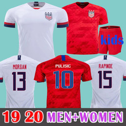 soccer jerseys united states Coupons - MEN+Kids 2019 Gold Cup USA Soccer Jersey PULISIC DEMPSEY BRADLEY ALTIDORE MORGAN Copa America Football Jerseys WOOD Uniform United States