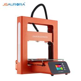 """Serigrafia metallo online-Stampante JGAURORA A3S 3D Kit fai da te Full-metal frame 2.8"""" Touch Screen Riprendi stampa funzione del volume edificabile con 16GB USB Stick"""