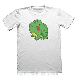 Felice rana online-T-shirt da uomo O-neck Sunlight T-shirt Happy Green Frog Design - Funny Mens Gift # 5172